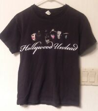 Parental Advisory Hollywood Undead Black Graphic Band Tee Mens Shirt Small. T55