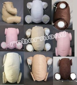 QUALITY HANDMADE JOINTED DOE SUEDE REBORN BODY - MULTIPLE VARIATIONS AS YOU WISH