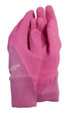 New Town And Country Master Gardener Gardening Gloves Glove Pink Medium TGL200M