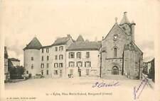 23* BOURGANEUF  eglise - place nadaud   MA77-0602