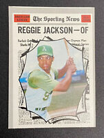 1970 Topps #459 Reggie Jackson Oakland Athletics Baseball Card