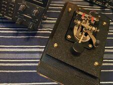 (NO KEY) Quality Morse Key Telegraph BASE for Lionel Etc J-38 PRE-DRILLEDw18HDWR