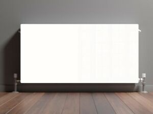 Coloured Glass Radiator Cover Panels - Made From Toughened Heat Resistant Glass
