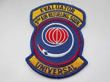RAF/USAF squadron cloth patch   evaluator  9th air refueling sq universal