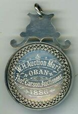 More details for victorian w.h. auction mart. oban,  sheep related silver medal 1886