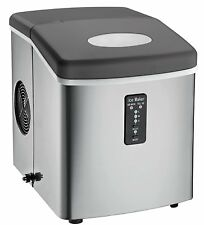 Igloo 26lbs Countertop Ice Maker w/ Choice of 3 Ice Cube Sizes - Stainless Steel
