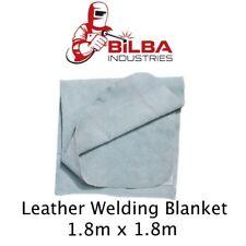 Leather Welding Blanket - 1.8m x 1.8m Heavy Duty