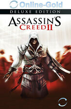 Assassin'S CREED 2 Deluxe Edition-PC UPLAY Digital Download Code-NUOVO UE/DE