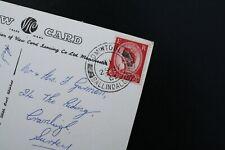 Tomintoul, Ballindaleloch, Scotland 1963 postmark on a Craigmonie Hotel postcard