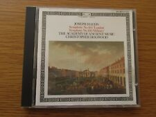 JOSEPH HAYDN - ACADEMY OF ANCIENT MUSIC CHRISTOPHER HOGWOOD 1984 WEST GERMAN CD