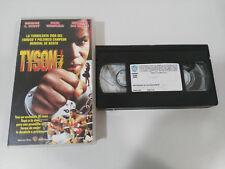 TYSON GEORGE C SCOTT PAUL WINFIELD ULI EDEL BOXING - VHS TAPE TAPE SPANISH