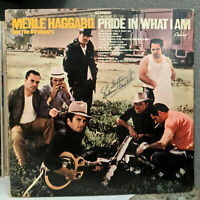 "MERLE HAGGARD - Pride In What I Am (SKAO-168) - 12"" Vinyl Record LP - VG"