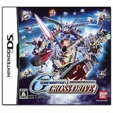 USED SD Gundam G Generation: Cross Drive Japan Import Nintendo DS