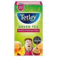 Tetley Green Mango & Passionfruit Tea Bags - 20 per pack (0.09lbs)