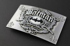 BATMAN GOTHAM GUARDIAN METAL BELT BUCKLE DC COMICS MOVIE