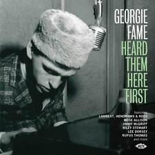 Various Artists - Georgie Fame Heard Them Here First (CDCHD 1458)