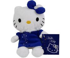 """Hello Kitty """"Diamant"""" blaues Kleid Plüsch Kuscheltier ca 15cm Sanrio 10519"""
