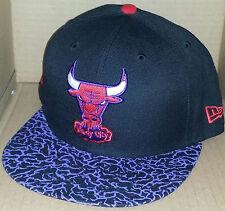 ac4dd552b0b NWT NEW ERA Chicago BULLS IL 59FIFTY purple black size 7 3 8 fitted cap