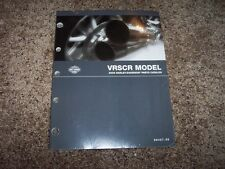 2006 Harley Davidson VRSCR Street Rod V-Rod Parts Catalog Manual Book NEW