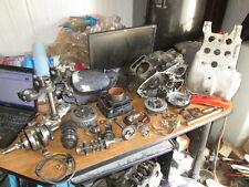 1982 Honda XR250 Skid Plate Crankcases Crankshaft Clutch Cylinder Etc Parts Lot