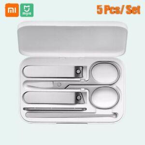 Tagliaunghie Xiaomi Mijia Set Tagliacapelli  Per Pedicure Strumento Clipper O9W6