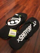 Shoyoroll Flip Flops Size 10 / Rare / Albino Preto