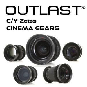 OUTLAST Contax Yashica Zeiss Follow Focus Gears C/Y Zeiss Cine-Mod Cinema Gears