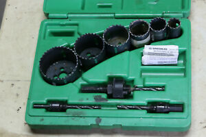 Greenlee 830 Variable Pitch Hole Saw Set