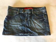 GUESS Jeans 100% Cotton Blue Denim Skirt Micro Mini Skirt Size 27