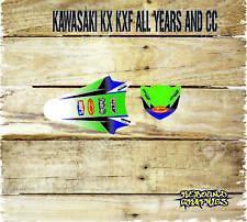 KAWASAKI KX KXF 65 85 125 250 450 FRONT & REAR MUDGUARD GRAPHICS-DECALS-PRO CYCL