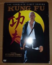 Kung Fu: The Complete First Season (DVD, 2004, 3-Disc Set)  B76