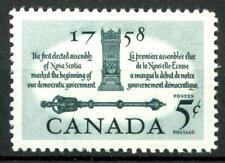 CANADA - 1958 - Bicentenario della I ° assemblea elettiva di Nova Scotia