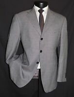 Stunning Men's Gray wool & bamboo Arnold Brant coat jacket 40 Short