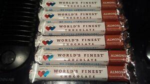 WORLD'S FINEST CHOCOLATE (6) Almond x $1.00 Ea Bars