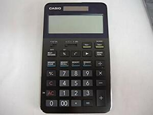 CASIO S100 Ultimate High-end Desktop Calculator Professional Black Japan USED
