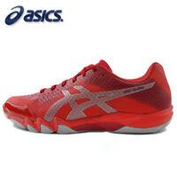 ASICS GEL-BLADE 6 Men's Badminton Shoes Indoor Red Racquet Racket NWT R703N-600