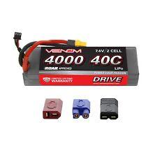 Venom LiPo Battery : Traxxas Stampede 4x4 VXL 40C 7.4V 4000mAh 2S with UNI Plug