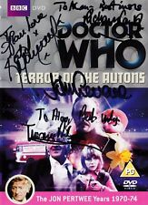 More details for doctor who - terror of the autons dvd - signed by 4 cast & crew (jon pertwee)