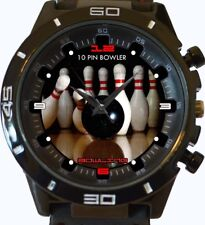 10pin Bowler Bowling Champ New Gt Series Sports Unisex Gift Watch