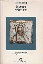 (Hans Kung) Essere cristiani 1980 oscar Studio Mondadori