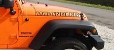 2 x Jeep Wrangler Decal set TWO stickers hood fender custom Rubicon TJ JK CJ YJ