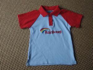 Rainbows uniform polo shirt Medium 5-7yrs