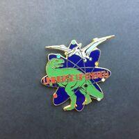 Universe of Energy pterodactyl flying over a tyrannosaurus rex Disney Pin 3923