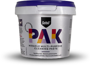 Selsil - Multi-Purpose Cleaning Paste 500g Removes Grease & Grimes %100 Natural