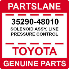 35290-48010 Toyota OEM Genuine SOLENOID ASSY, LINE PRESSURE CONTROL