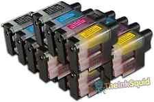16 LC900 Conjunto de Cartuchos de tinta para la impresora Brother MFC5840CN MFC620CN