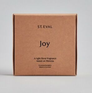 """St Eval """"JOY """"  Scented Tealights Two packs of 9. 18 tealights in total"""