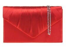 Borse da donna borsette pochette rosso raso