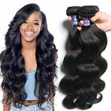 16'' 1Pack 7A Brazilian Black Body Wave Virgin Human Hair Extension Weft 100G