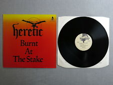 HERETIC Burnt at the stake THUNDERBOLT 12-inch EP THBE-1004!